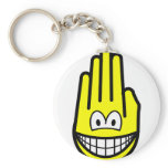 Hand smile   keychains