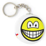Guatemalan worry doll smile   keychains