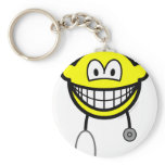 Doctor smile Stethoscope  keychains