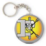 Safe emoticon   keychains