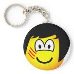 Bruce Lee emoticon   keychains