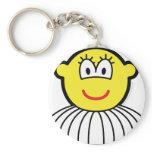 Ballerina buddy icon   keychains