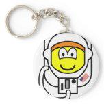 Astronaut buddy icon   keychains