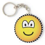 Circle saw emoticon   keychains
