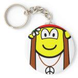 Hippie buddy icon   keychains