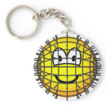 Pinhead emoticon   keychains