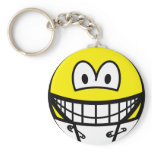 Diaper smile   keychains