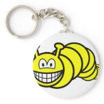 Caterpillar smile   keychains