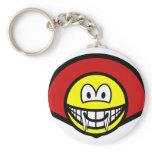 Dracula smile   keychains