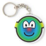 Psychedelic buddy icon   keychains