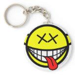 Happy smile   keychains