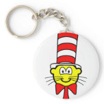 Cat in the hat buddy icon   keychains