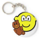 Teddy bear toy buddy icon   keychains