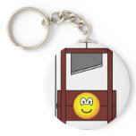 Guillotine emoticon   keychains