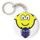 Pocket bike buddy icon   keychains