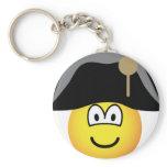 Napoleon Bonaparte emoticon   keychains