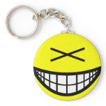 XD smile   keychains