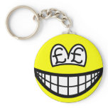 Pound eyed smile   keychains