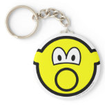 Inflatable smile   keychains