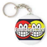 Credit Card smile   keychains