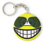 Aviators smile Sunglasses   keychains