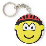 Biker buddy icon   keychains