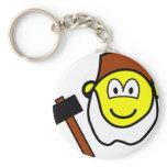 Grumpy buddy icon Seven Dwarves  keychains