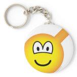 Male emoticon   keychains