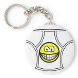Pants smile   keychains