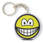 Space smile   keychains