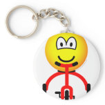 Tricycle emoticon Riding  keychains