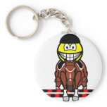 Horse show jumping smile Olympic sport Equestrian keychains