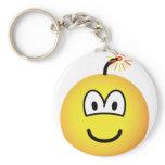 Bomb emoticon   keychains