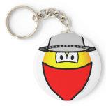 Bandit emoticon   keychains