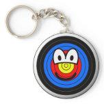 Target emoticon   keychains