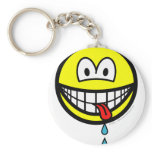 Drooling smile   keychains