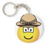 Tropical emoticon   keychains