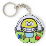 Buzz Lightyear smile   keychains