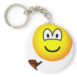 Chairman emoticon   keychains