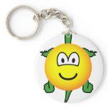 Turtle emoticon   keychains