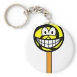 Lollipop smile   keychains