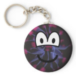 Plasma globe emoticon   keychains
