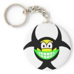 Biohazard smile version I  keychains