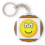 Picture frame emoticon   keychains