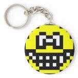 Pixel smile   keychains