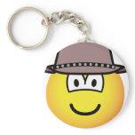 Cowboy emoticon   keychains