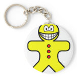 Gingerbread smile   keychains