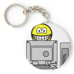 Computing smile   keychains