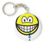 Drool smile   keychains