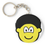 Afro buddy icon   keychains